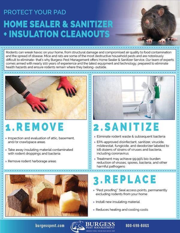 Home Sealer & Sanitizer Service